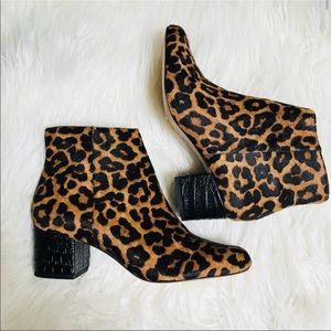 Sam Edelman Edith Leopard Booties